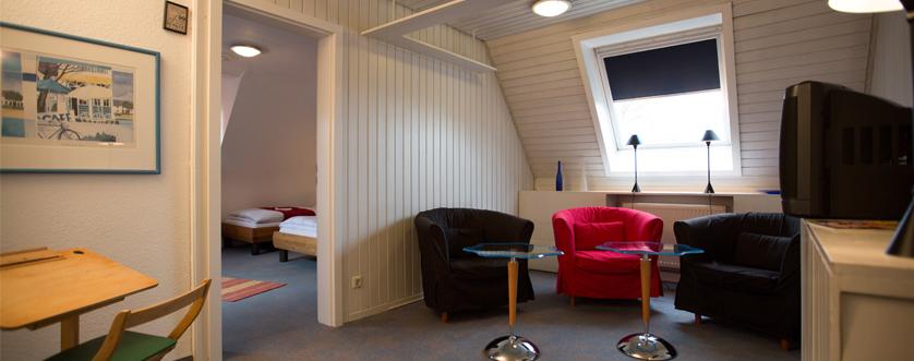 Appartement AufenthaltsraumHotel Bürkle