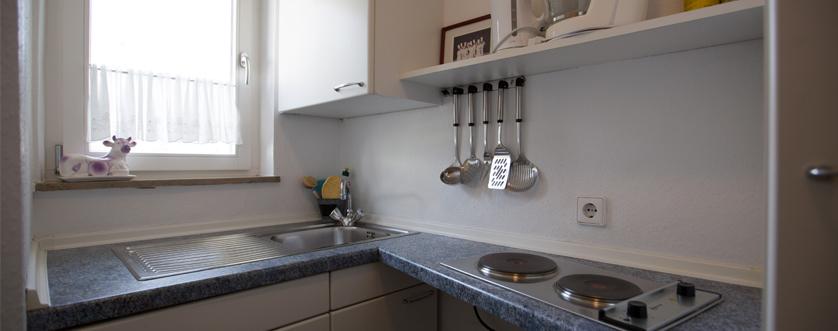 Gästehaus Küche Bürkle